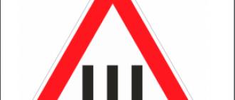 Обозначение знака шипы по ПДД