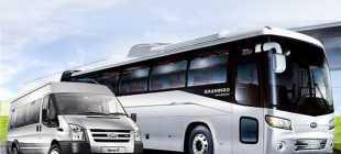 Перевозки пассажиров на микроавтобусах